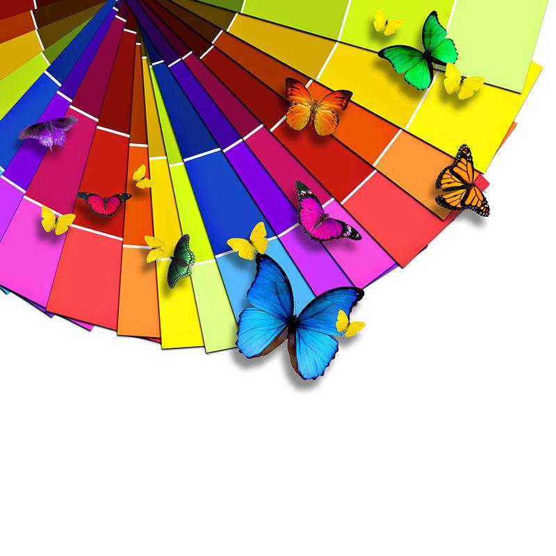 Таблица цветов изделий