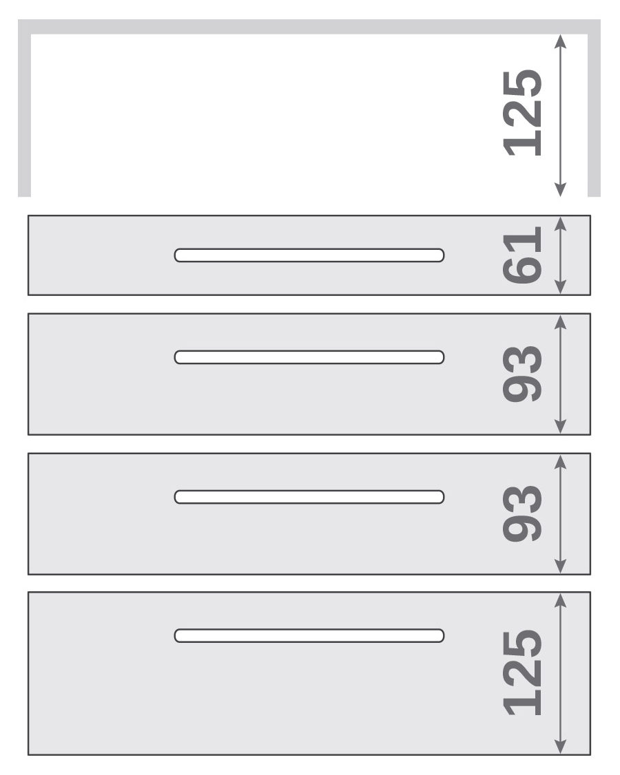 ПАНОК-СОЛО 450 long з полицею (каталожний номер 10.1-10.6), Каталожний номер 10.4