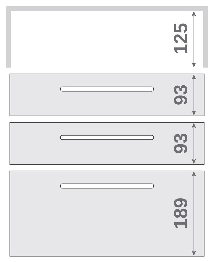 ПАНОК-СОЛО 450 long з полицею (каталожний номер 10.1-10.6), Каталожний номер 10.5