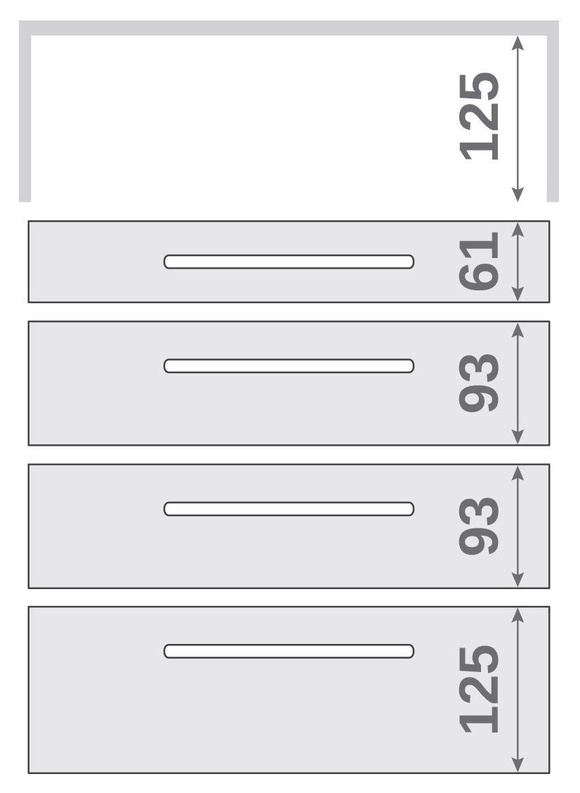 ПАНОК-СОЛО 400 long c полкой (каталожный номер 12.1 -12.6), Каталожный номер 12.2