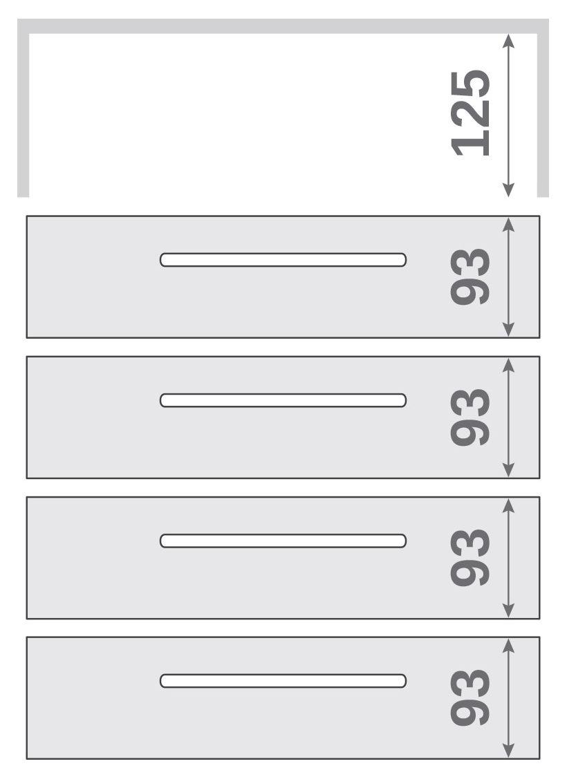 ПАНОК-СОЛО 400 long c полкой (каталожный номер 12.1 -12.6), Каталожный номер 12.3