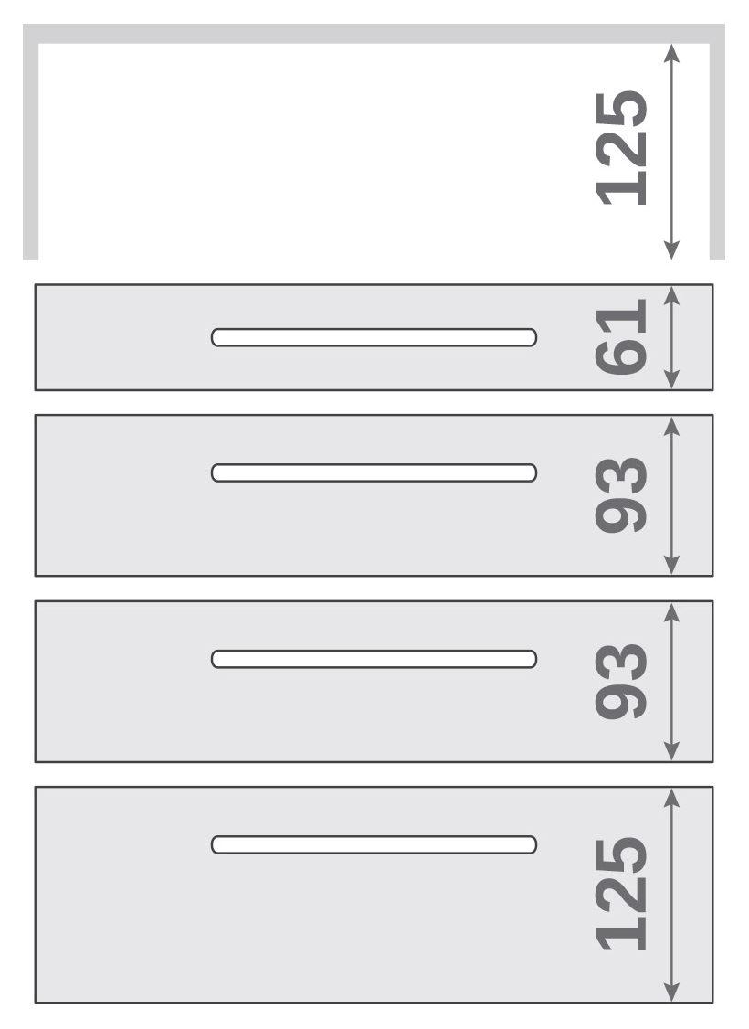 ПАНОК-СОЛО 400 long з полицею (каталожний номер 12.1 -12.6), Каталожний номер 12.4