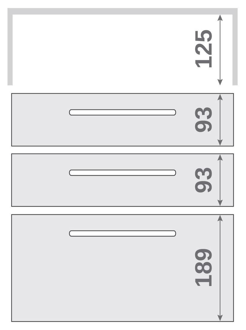 ПАНОК-СОЛО 400 long з полицею (каталожний номер 12.1 -12.6), Каталожний номер 12.5