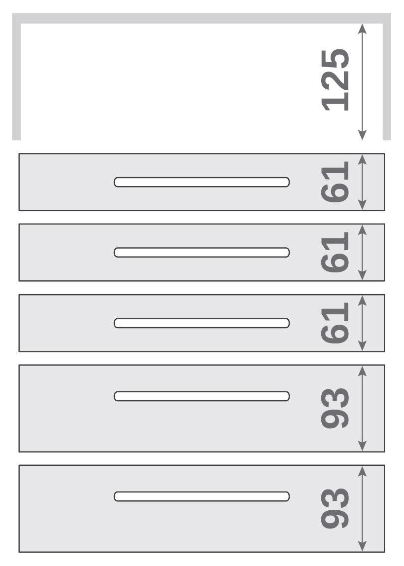 ПАНОК-СОЛО 400 long з полицею (каталожний номер 12.1 -12.6), Каталожний номер 12.6
