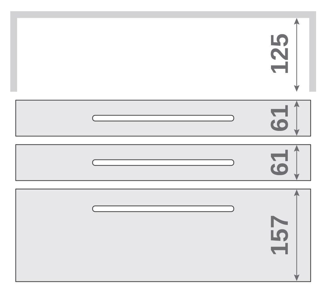 ПАНОК-СОЛО 500 с полкой (каталожный номер 2.1 -2.6), Каталожный номер 2.1