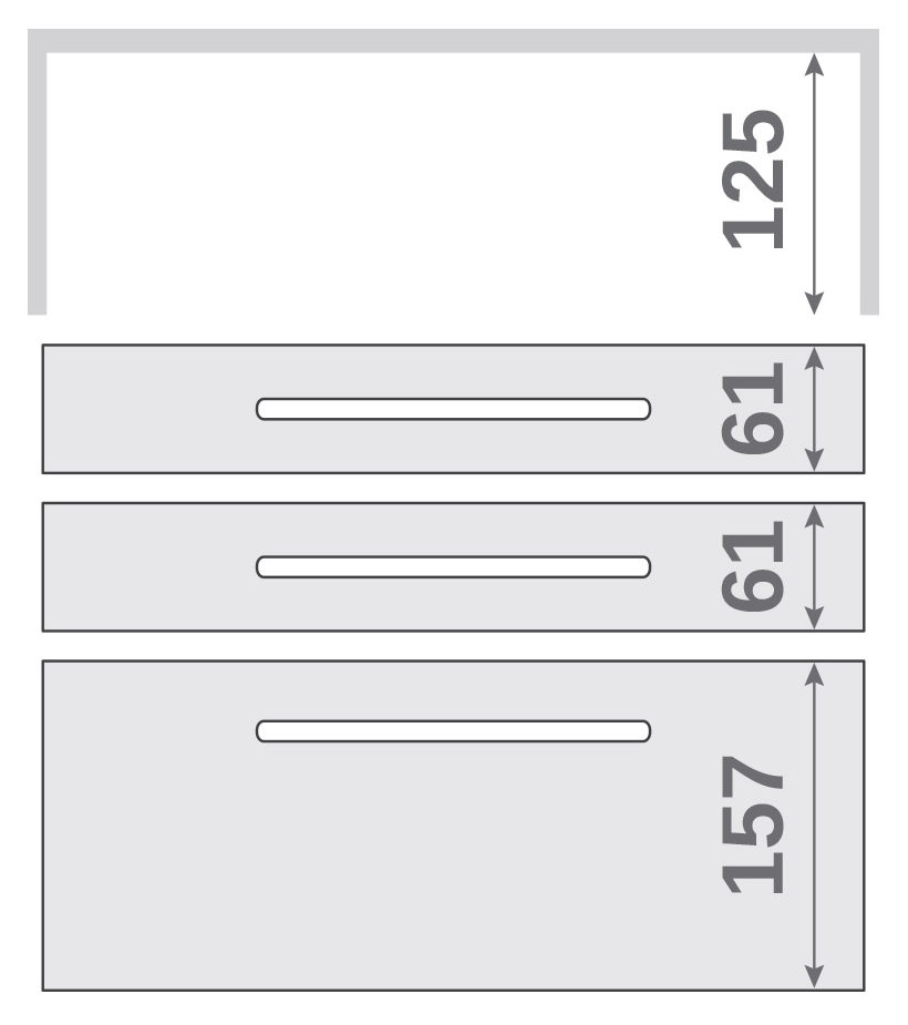 ПАНОК-СОЛО 400 с полкой (каталожный номер 6.1-6.6), Каталожный номер 6.1