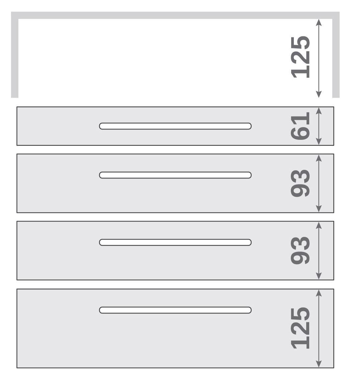 ПАНОК-СОЛО 500 long з полицею (каталожний номер 8.1-8.6), Каталожний номер 8.4