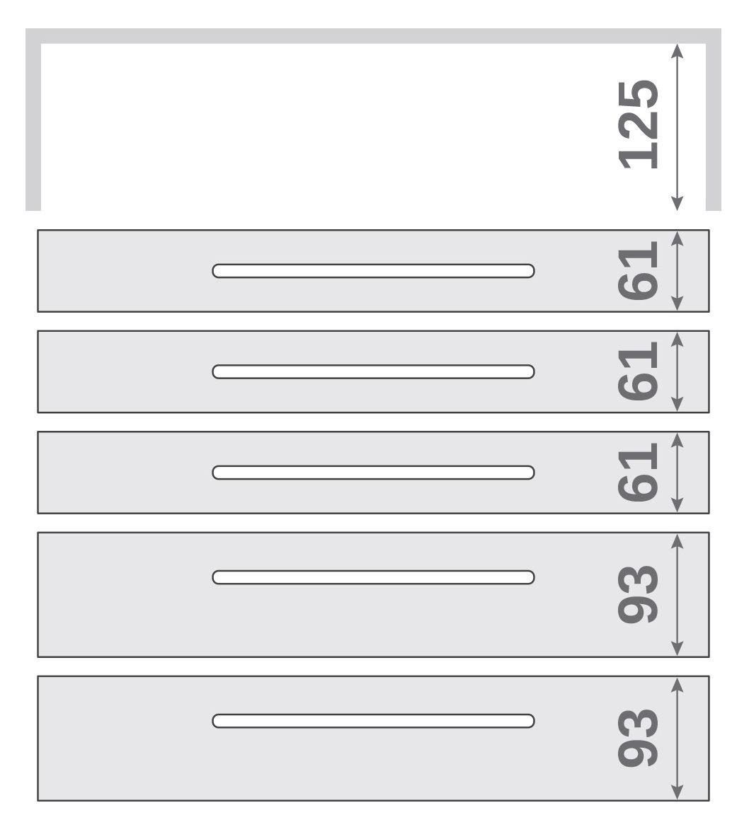 ПАНОК-СОЛО 500 long з полицею (каталожний номер 8.1-8.6), Каталожний номер 8.6
