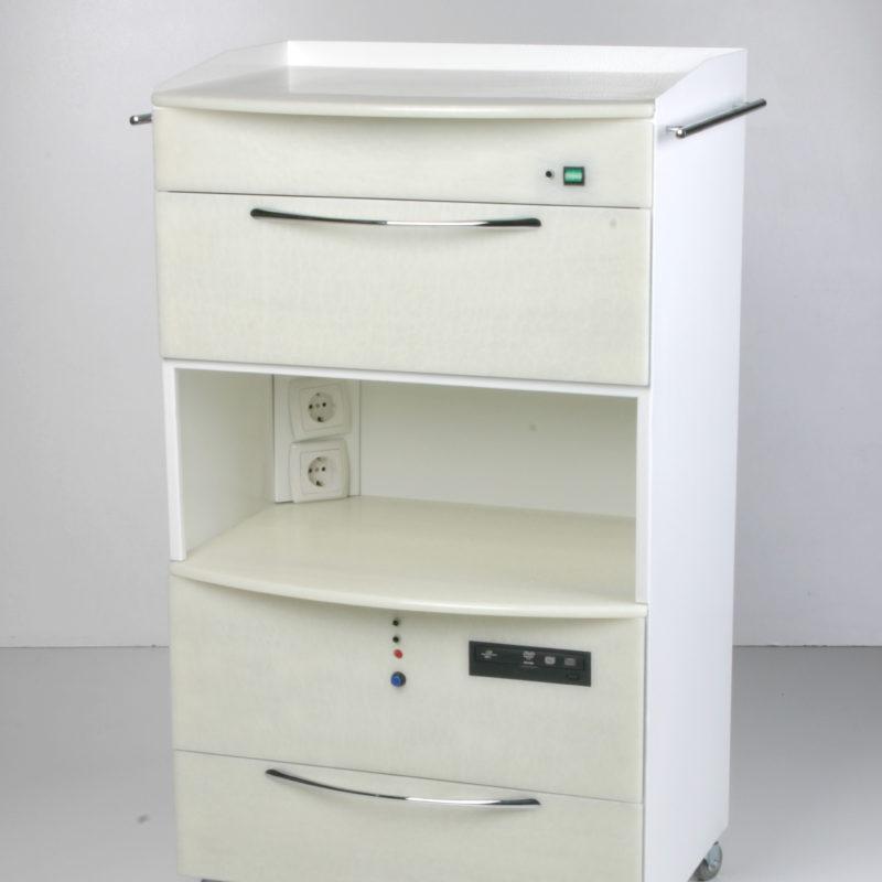 Mueble «Master Shimma» con cámara ultravioleta y PC