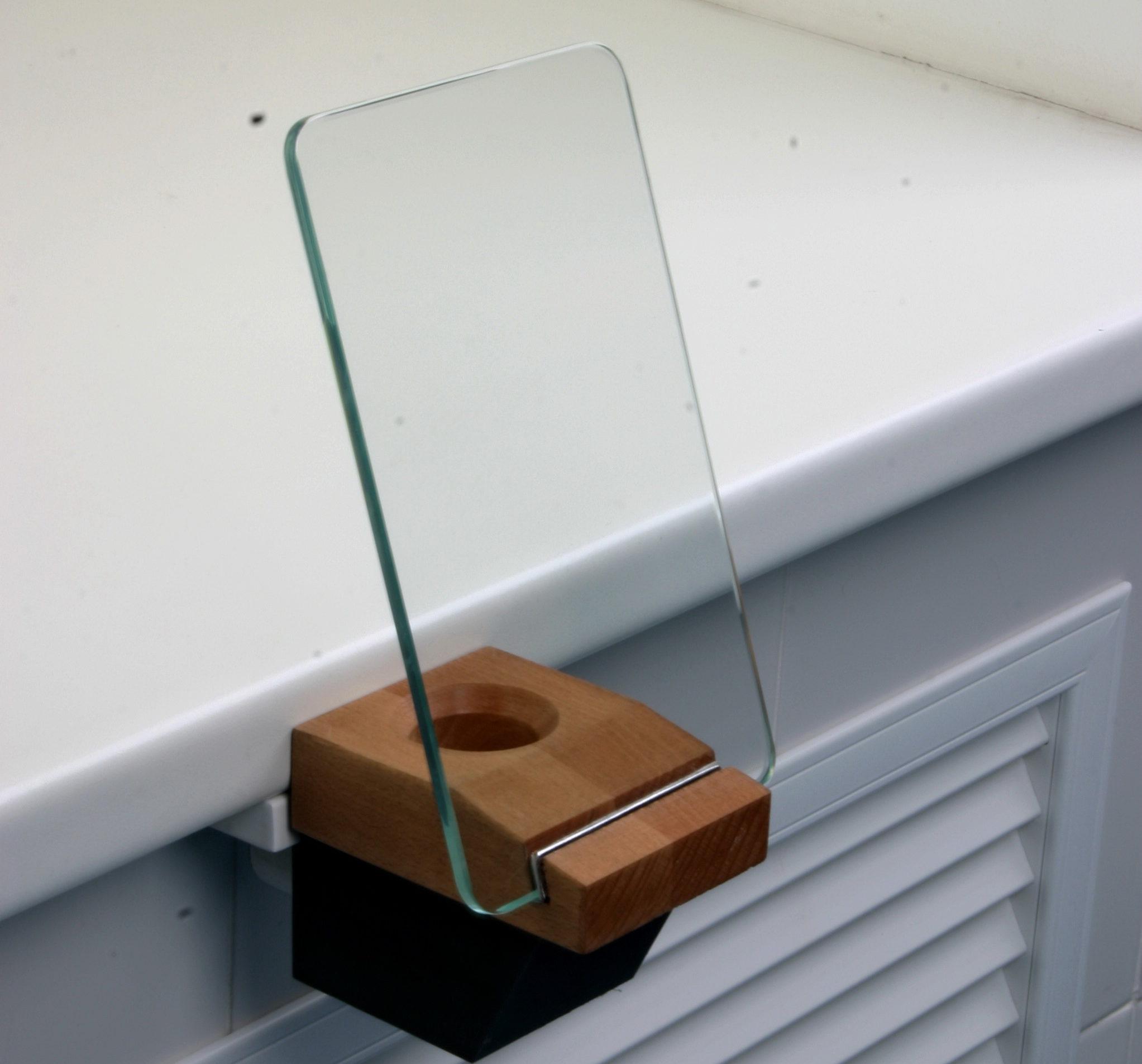 Cьемный финагель с защитным стеклом — экраном