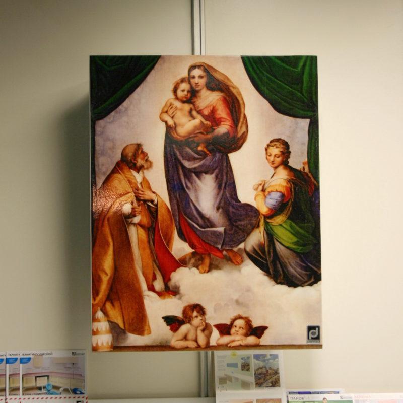 Аптечка-картина «Мадонна»