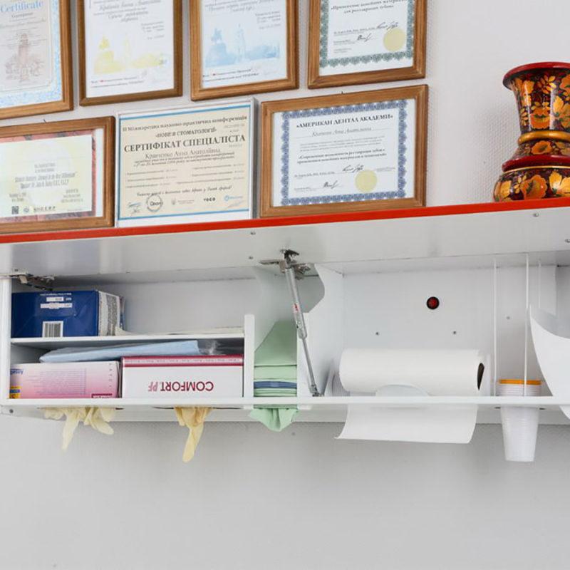 An open dispenser