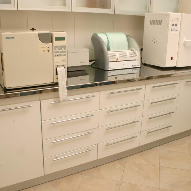 Set #104 Sterilization room