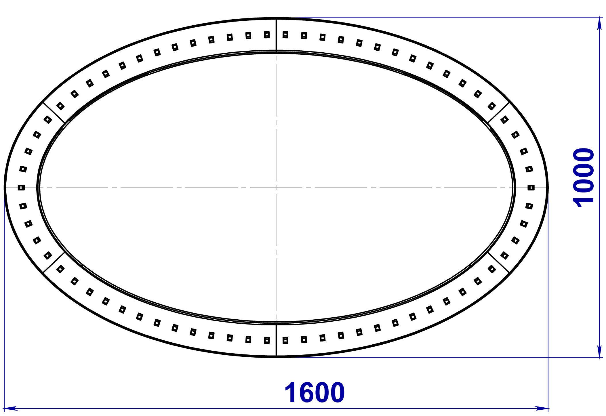 Медицинский светильник поля с зеркалом, Безтеневой светильник поля с зеркалом «НЛО зеркальное-1600»