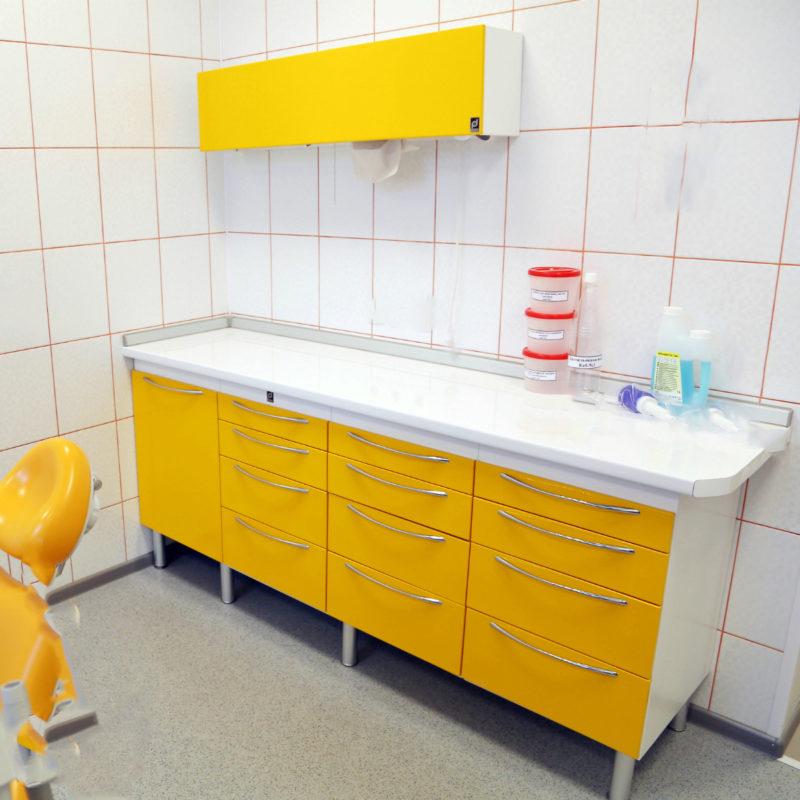 Medical metal furniture sets