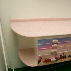 Гарнитур №182. Розовый фламинго