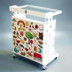 PANOK-2 medical table trolley for kid's detal office.