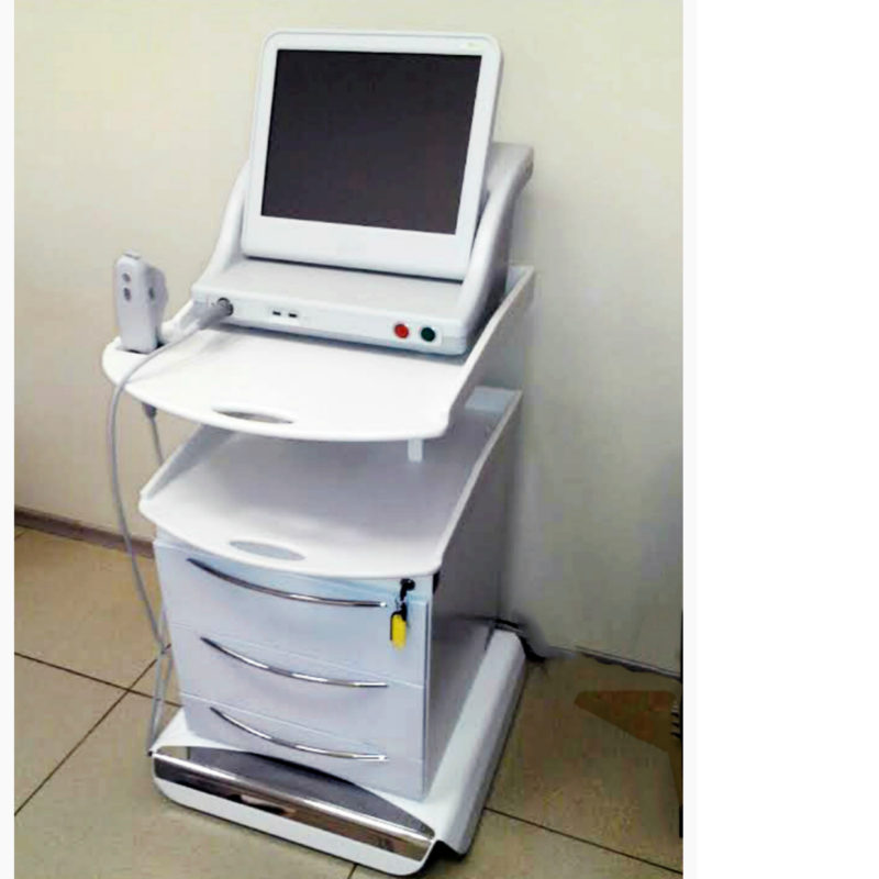 Mobile cabinet for innovative ultrasonic device for facial skin lifting 'Ultherapy Machine'
