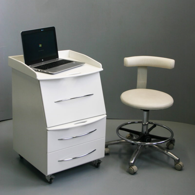 Mobile cabinet for intraoral scanner №2